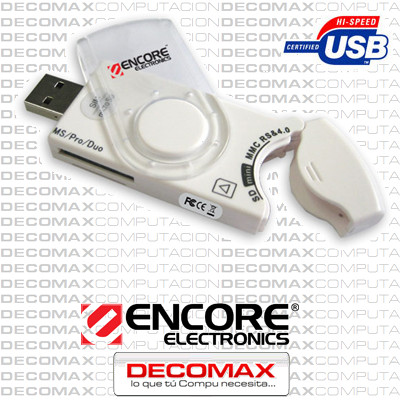 CARD READER ENCORE ENUCR-3 40-EN-1 USB SIM SDHCBOX