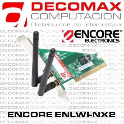 PLACA DE RED ENCORE ENLWI-NX2 WIRELESS-N PCI BOX