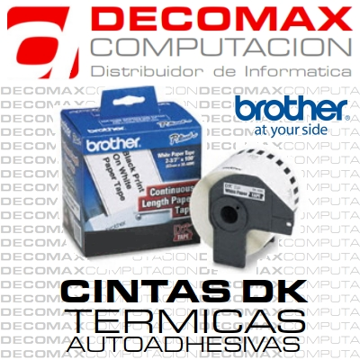 CINTA CONTINUA BROTHER DK2214 12MM 30M TERMICA BOX