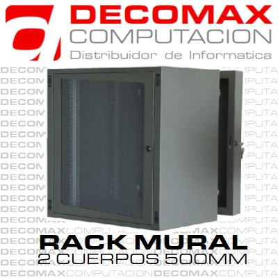 RACK MURAL 2 CUERPOS AR-8115 15U PROF580MM 19P BOX