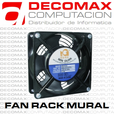 COOLER FAN PARA RACK MURAL WIRED 3.5-PULG AC 230V