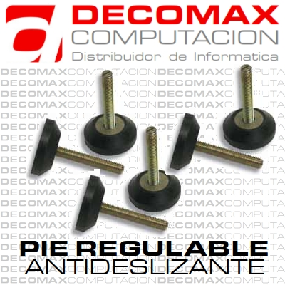 PIE REGULABLE ANTIDESLIZANTE AR 4U PARA RACKS X4