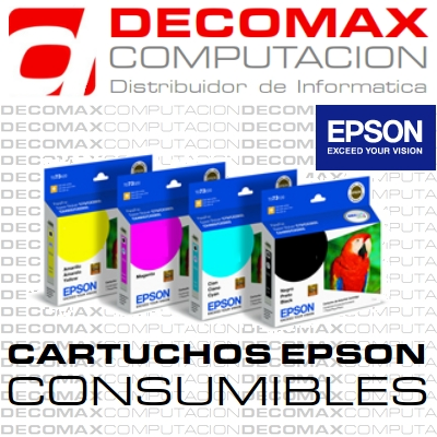 CARTUCHO EPSON T133120 133 NEGRO ORIGINAL BOX