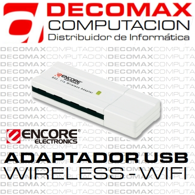 ADAPTADOR USB ENCORE ENUWI-NX2 WIRELESS-N 300M BOX