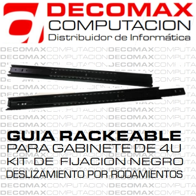 KIT RACKEABLE KR550MM GUIA CON FIJACIONES 3T 550MM