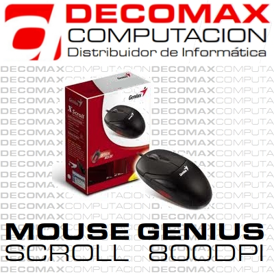MOUSE GENIUS NETSCROLL 120 OPTICAL BLACK PS2 BOX