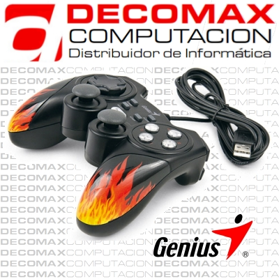 GAMEPAD GENIUS MAXFIRE BLAZE3 VIBRATION PS3 USBBOX