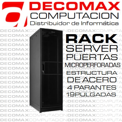 RACK SERVER AR-1541M 41U 1000MM PTA.MICROPERFORADA