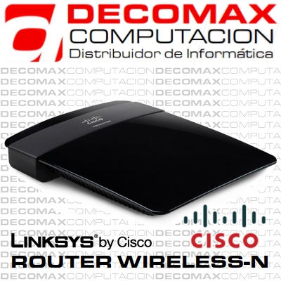 ROUTER LINKSYS CISCO E1200 WIRELESS-N 300MB 4P BOX