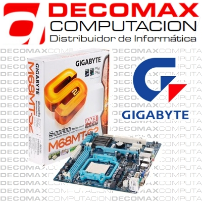 MOTHERBOARD GIGABYTE GA-M68MT-S2 DDR3 SATA AM3 BOX