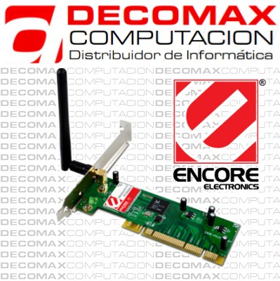PLACA DE RED ENCORE WP81902 WIRELESS-N150 PCI32BOX