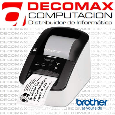ROTULADORA BROTHER QL-700 TERMICA DIRECTA USB BOX
