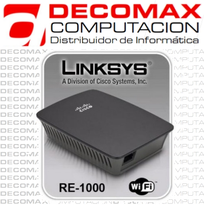 REPETIDOR LINKSYS CISCO RE1000 WIRELESS-N 2.4G BOX