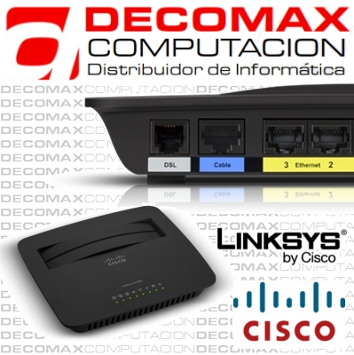 MODEM ROUTER ADSL LINKSYS CISCO X1000 WIFI N300BOX