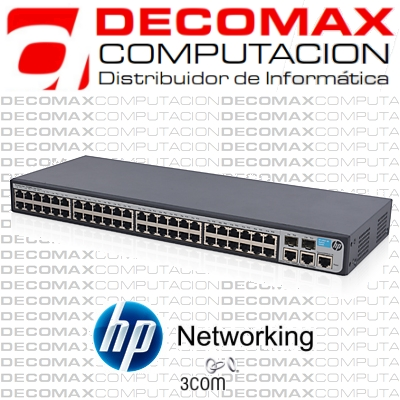 SWITCH HP V1910-48 JG540A 48-PORT ADMIN 2GIGA 2SFP
