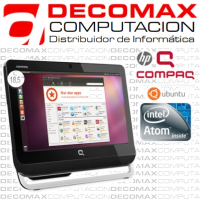 ALL IN ONE HP COMPAQ 18-2001LA ATOM 2G 500G DVD LX