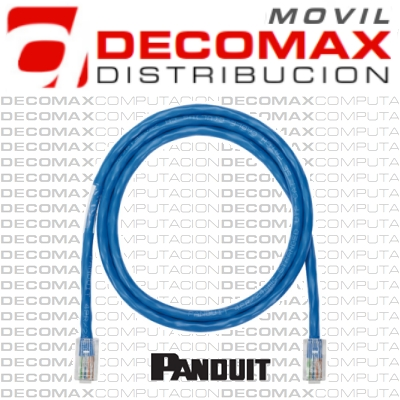 PATCH CORD UTP CAT6 PANDUIT 2.1M COBRE T568A RJ45