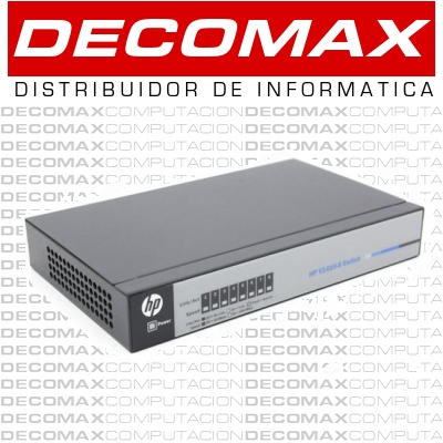 SWITCH HP 1410-8 J9661A 8-PORTS 10/100MBPS QOS BOX