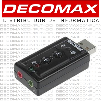 SONIDO EXTERNO USB NETMAK NM-SU4CH 7.1 CHANNEL BOX