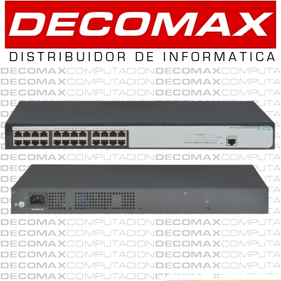 SWITCH HP 1620-24G JG913A 24P GIGABIT ADMIN L2 BOX