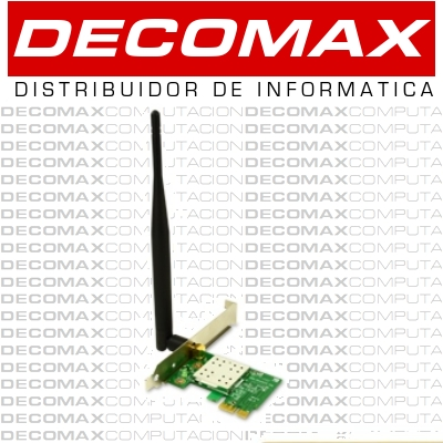 PLACA PCI-E ENCORE WE8188RE5 WIRELESS-N150 5DBIBOX