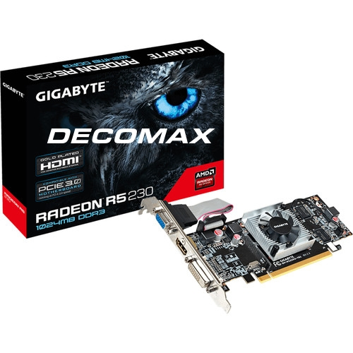P.VIDEO GIGABYTE RADEON R5 230 1GB D3 HDMI PCIEBOX