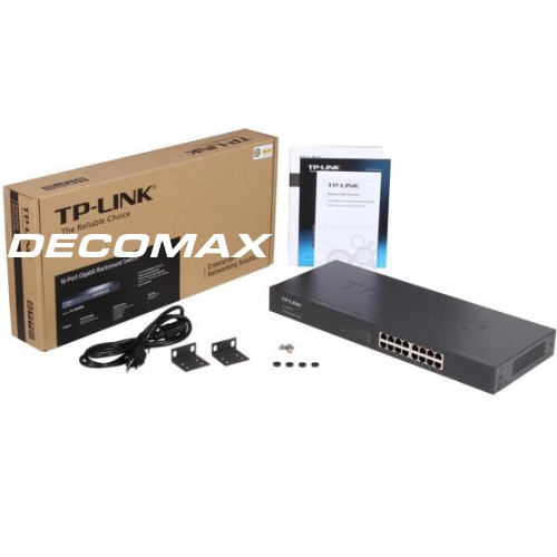 SWITCH TP-LINK TL-SG1016 16-PORT GIGABIT 1000MBOX