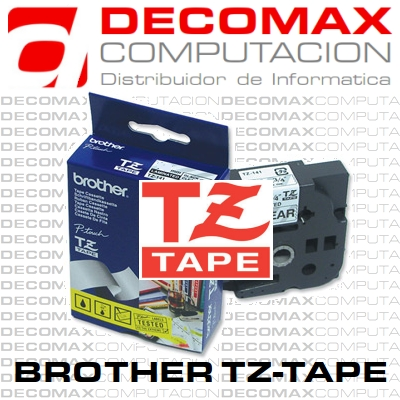 CINTA BROTHER TZE-231 12MM BLANC LAMINADA ORIGINAL