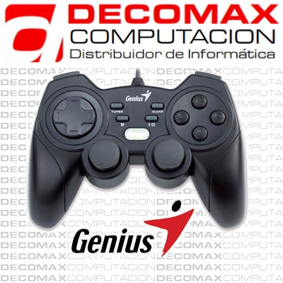 GAMEPAD GENIUS MAXFIRE GRANDIAS 12 ANALOGIC USBBOX