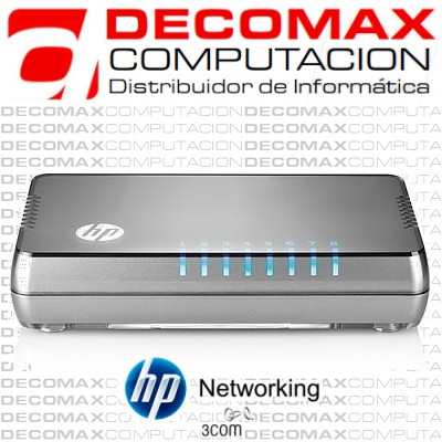 SWITCH HP 1405-8G V2 J9794A 8PORT GIGABIT 1000 BOX